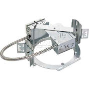 """Lithonia LF8N 2/18DTT MV 8""""Recessed Commercial Grade Housing For Compact Fluor. Horizontal 2-Lamp"""