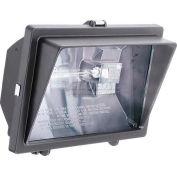 Lithonia OFL 300/500Q 120 LP BZ M6 Floodlight Bronze Quartz Halogen Lamps Included
