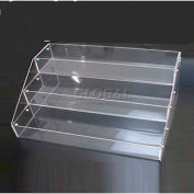 """Counter Top Display, 16"""" L X 11-3/4"""" W X 7"""" H, 1/8"""" Thickness, Acrylic, Clear - Pkg Qty 6"""