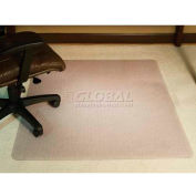"""Aleco® AnchorBar® Office Chair Mat for Carpet - 46""""W x 60""""L, .170"""" Thick - Beveled Edge"""