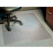 "Aleco® AnchorBar® Office Chair Mat for Carpet - 46""W x 60""L, .110"" Thick - Beveled Edge"