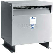 Acme DTGB02204S Drive Isolation Transformer, 3 PH, 60 Hz, 460 Delta Primary V, 220 W, Floor Mount
