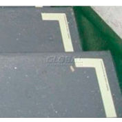 Photoluminescent Aluminum 'Right' L-Shaped Step Marker