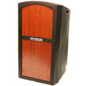 Non-Sound Pinnacle Full Height Podium / Lectern - Cherry