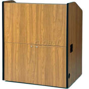 Non Sound Multimedia Smart Podium - Medium Oak