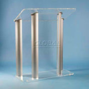Contemporary Acrylic And Aluminum Podium / Lectern