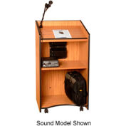 Presidential Plus Non-sound Podium / Lectern - Medium Oak
