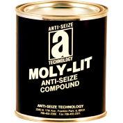 MOLY-LIT™ Moly & Graphite Based Anti Seize 2400°F, 2-1/2 Lb. Can 12/Case - 12032 - Pkg Qty 12