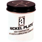 NICKEL PLATE™ Anti-Seize w/Graphite, 2600°F, 2oz. Brush Top 48/Case - 35002 - Pkg Qty 48
