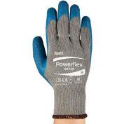 PowerFlex® Latex revêtus gants Ansell 80-100-9, 1-paire, qté par paquet : 12