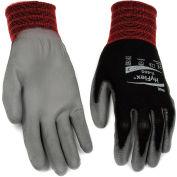 HyFlex® Lite Polyurehtane Coated Gloves, Ansell 11-600, Size 8, Black/Gray, 1 Pair - Pkg Qty 12