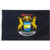 4X6 Ft. 100% Nylon Michigan State Flag