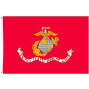 4X6 Ft. Nylon US Marine Corps Flag