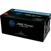 AIMS Power LFP12V200A, Power Lithium Iron LiFePO4 12V Battery 200 AH
