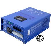 OBJECTIFS de puissance 12000 watts pur sinus onduleur chargeur 48V à 120/240 VAC Split Phase PICOGLF120W48V240VS