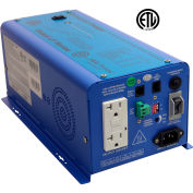 AIMS 600 Watt Pure Sine Inverter Charger 12V, PICOGLF6W12V120V