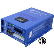 AIMS 8000 Watt Pure Sine Inverter Charger- 48 Vdc/240Vac Input & 120/240Vac, PICOGLF80W48V240VS