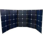 PV130CASE de puissance objectifs, 130 Watt Port pliable panneau solaire W/construit dans l'exercice monocristallin affaire