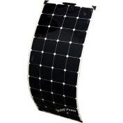 AIMS Power PV130SLIM, 130 Watt Flexible Bendable Slim Solar Panel Monocrystalline