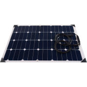 AIMS Power PV60SLIM, 60 Watt Flexible Bendable Slim Solar Panel Monocrystalline