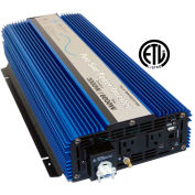 AIMS Power 3000 Watt 12 Volt Pure Sine Inverter, PWRI300012120S