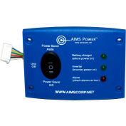 AIMS Power REMOTELED, LED Remote Panel for 1250 and 2500 Watt Green Inverter Chargers