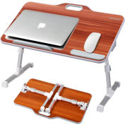 Kavalan Large Size Portable Laptop Table - American Cherry