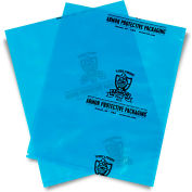 "Armor Poly VCI Bags 10""W x 12""H 4 Mil Blue 1,000 Pack"