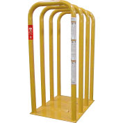 AME International Tire Inflation Safety Cage, 4 Bar, Heavy Duty Steel