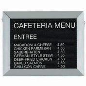 "Aarco Aluminum Framed Letter Board Message Center - 18""W x 12""H"