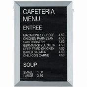 "Aarco Aluminum Framed Letter Board Message Center - 12""W x 18""H"