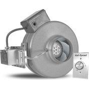 Vortex Powerfan 4'' In-Line Duct Fan VTX400P-a w / pressostat et Vari-Speed Speed Control Kit