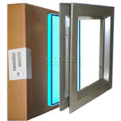 """Complete PAK VSL 2436B WS PAK, Includes Low Profile 24"""" X 36"""" & WireShield Fire & Safety Glass"""
