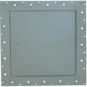 """Caché cadre panneau d'accès pour le plâtre, verrou à came, blanc, W 24"""" x 24"""" H"""