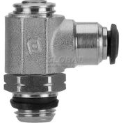 "AIGNEP Flow Control 50901N-6-1/8, Screw Adj, Flow Out, 6mm, 1/8"" Swift-Fit Universal Thread - Pkg Qty 2"