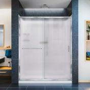 "DreamLine DL-6116C-01FR Infinity-Z Shower Door 30"" x 60"" Shower Base Center Drain QWALL-5 Backwalls"