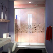 "DreamLine™ Visions Clear Glass Shower Door SHDR-1160726-04, 56""-60"" x 72"""