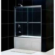 "DreamLine™ Duet Bypass Sliding Tub Door SHDR-1260588-01, 56""-59"" x 58"""