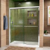 """DreamLine™ Duet Bypass Sliding Shower Door SHDR-1260728-01, 56""""-60"""" x 72"""""""