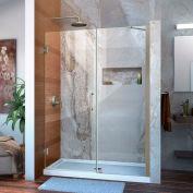 """DreamLine™ Unidoor Frameless Adjustable Shower Door SHDR-20487210C-04, 48""""-49"""""""