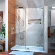 "DreamLine™ Unidoor Frameless douche réglable, porte son-20557210-04 55""-56 »"