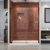 """Porte de douche pour le Pivot élégance DreamLine son-4151720-06, Bronze, 51 à 53 """"x 72"""""""