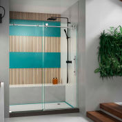 "DreamLine™ Enigma x Shower Door SHDR-61607610-08, 56""-60"" x 76"""