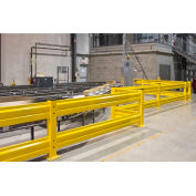"Cogan 4'Lx12""H Heavy-Duty Guard Rails"
