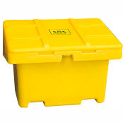 "Techstar SOS Outdoor Storage Container - 42"" x 29"" x 30"" - 11 Cu. Ft. - Yellow"