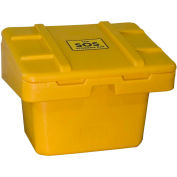 "Techstar SOS Outdoor Storage Container - 30"" x 24"" x 23"" - 5.5 Cu. Ft. - Yellow"