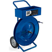 """Steel Strapping Cart - For 3X16"""" Or 6X11"""" Core"""