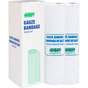 Gauze Bandage Roll, 10.2 Cm x 4.6 M, 2/Unit Box
