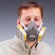 3M 6000 série bas-entretien respirateurs - demi-masque respiratoire - grands