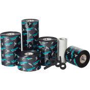 Inkanto APR 6 Wax & Resin Ribbons, 110mm W x 300m L, Black, 12 Rolls/Case